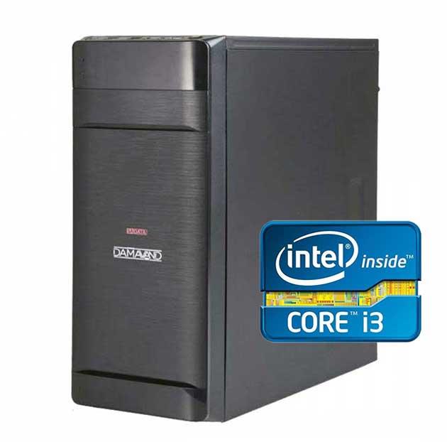 کیس کامل intel core i3
