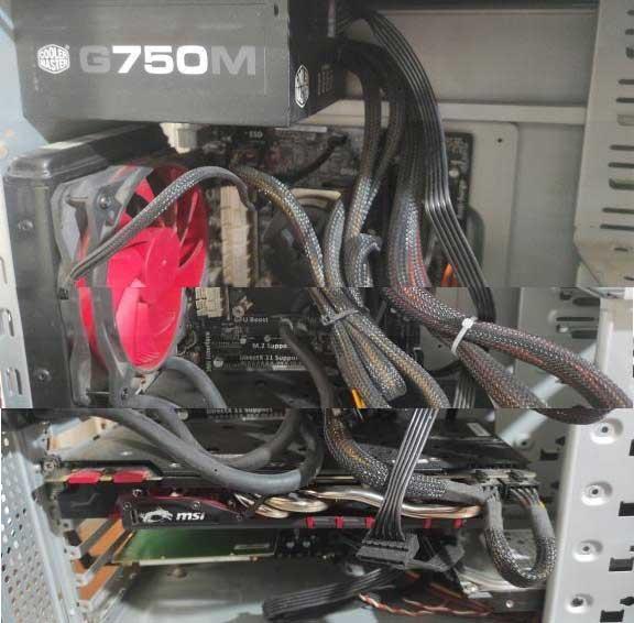 قیمت کیس کامپیوتر گیمینگ core i7